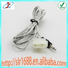 3.5mm Mono to 5.08mm Molex Connector 2 pin Cable