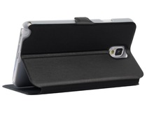 Hot! Ultra-Thin Voltage Type PU Stand Flip Leather Case For samsung note3
