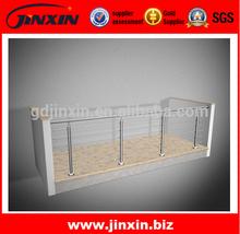 Corrosion Resist Balcony Stainless Steel Handrail Design