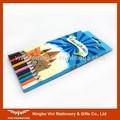Barato de la escuela lápiz de madera en buen paquete ( VMP012 )