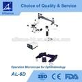 Al-6d microscopio quirúrgico para oftalmología