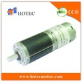 caja de cambios 28mm alto esfuerzo de torsión bajo nivel de ruido de batería alimentado motor eléctrico 12v