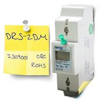 RS485 Din rail single phase remote meter read watt hour meter