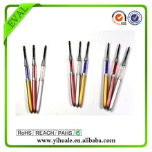 EVAL crystal handle metal pen for nails