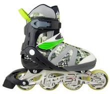 flashing rollers skating shoe roller skate ball bearings buckle roller skate