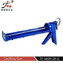 Semicircle type caulking gun/heat resistant silicone sealant