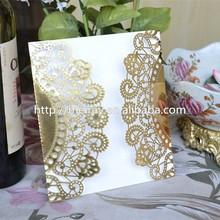 New product luxurious wedding decorations/Elegant Invitation Cards