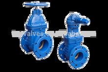 double expanding gate valve
