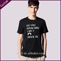 llanura de color negro t camisetas para hombres