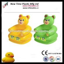 New arrival pvc inflatable animal sofa