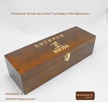 Hot-sale handmade customized distressed wood wine box