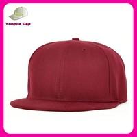 wholesale multi color flat brim promotional hats blank snapback cap hats cheap