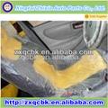 La producción de la fábrica personalizada de piezas de automóviles cubierta de asiento desechables/universal del asiento del coche cubre conjunto completo