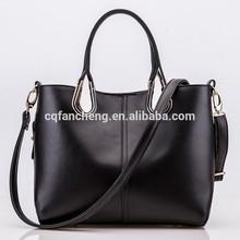2015 the most popular trendy genuine leather handbag /Lash bag/neverfull bag with no MOQ