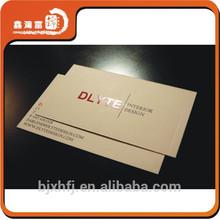 hot sale popular spot uv business card design