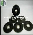 black colour, OD345-349 Fiberglass grinding wheel disc
