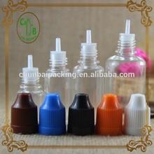 e cig oil bottles CT cap on sales 10ml 15ml 20ml
