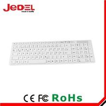 hot selling 2.4 wireless keyboards transparent wireless keyboard