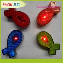Newest hot selling promotion plastic decorative flashing lights