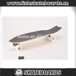 Cheap Canadian maple wood skateboard longboard for sale