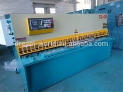 China Famous Brand DreamWorld AWADA supply cutting blades for shearing machine,cnc sheet metal shearing machine