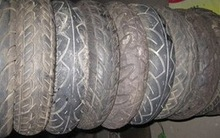 Motorcycle used tire with ISO9001:2000 quality system control, 2.25-17-6