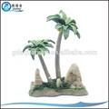 Fake pl-003 coqueiro artificial, da resina do aquário decorações da árvore