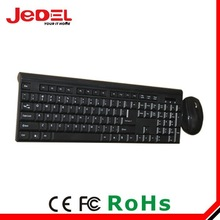 Wireless 2.4G slim keyboard and mouse combo
