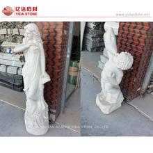 White Marble Stone Figure Statue & Sculpture