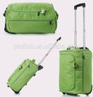 20 Inch Wheeled duffel bag school trolley bag wheeled luggage