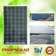 Best price and high efficiency mono 100 watt solar panel