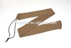 2015New Light Brown color waterproof knitting rifle gun socks