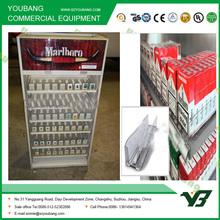 Venta al por menor de cigarrillo de plástico estante empujador y estante estante cola empujador