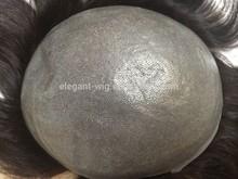 Elegant-wig factory price freestyle hande made indian men hair toupee wig