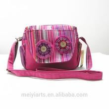 ethnic woman single strap shoulder bag