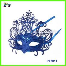 Electroplating plain plastic masks carnival