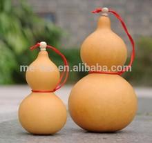 Hot export wine bottle forturn natural calabash bottle gourd colorful purple artcraft by hand