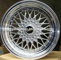Popular high quality aluminum alloy tire BBS