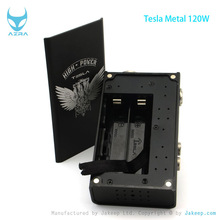 New E Cigarette 2014 Breaking News!! detachable aluminum with Tesla Metal 120W Mod