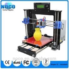 New high quality Full Kit Black/Transparent Color Acrylic Frame Reprap Prusa I3 3D Desktop Printer Sanguinololu control board