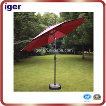new invention 2.5M Alu frame reflective umbrella