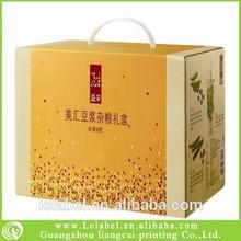 Popular wine glass cardboard gift box cardboard box for beer