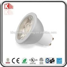 2700K 3000K Warm White Energy Saving COB Lamp Dimmable GU10 Led