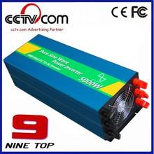 manufacturer 5000W 12V CE dc ac pure sine wave custom solar inverter
