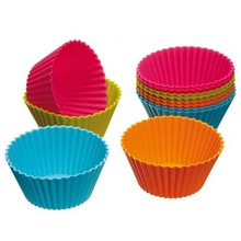 Fation Design Silicone Cake Molds / Food Grade Silicone Cupcake Moulds