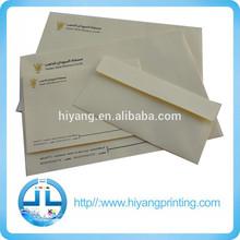 alibaba china wallet or pocket self adhesive gummed or peel & seal envelope