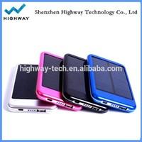 High demand mobile phone solar charger power bank 5000mah