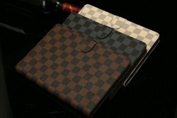Smart flip cube luxury stand leather case cover for ipad mini 1 2 3