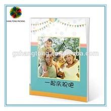 China manufacture die cut children book printing