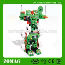 2014 Children Plastic Assembled Toy Robot